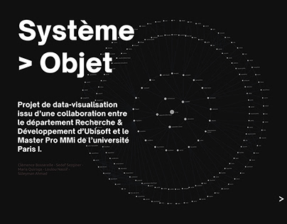 Data Design for UBISOFT