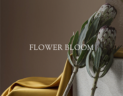 FLOWER BLOOM Website design