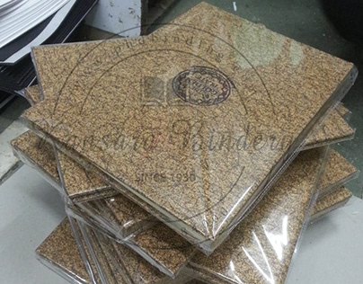 MDF Board Wiro Binding with Laser Engraving