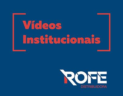 Vídeo Institucionais ROFE