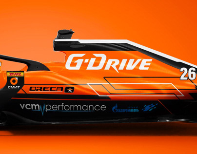 G-Drive Oreca F1 Livery Concept