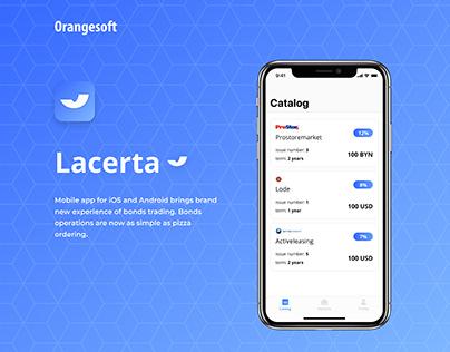 Lacerta - Mobile bonds trading platform