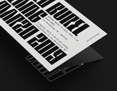 MUSEO BUREL — Branding