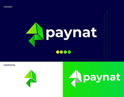 paynat logo design | modern P Logo