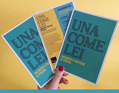 Miscellanea • Printed flyers and brochures