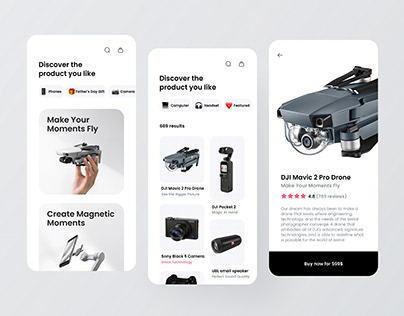 Electronic product app