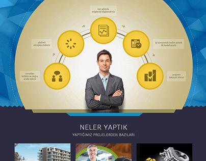 Milestone Yazılım Website Design
