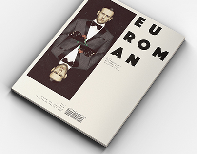 Euroman magazine redesign