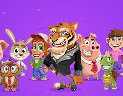 Cartoon Animals Collection Vol. 2