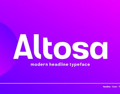 GR Altosa Typeface