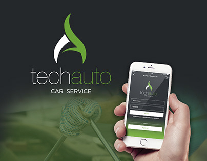 Brand, Web Design, APP Mobile, UI/UX - Techauto