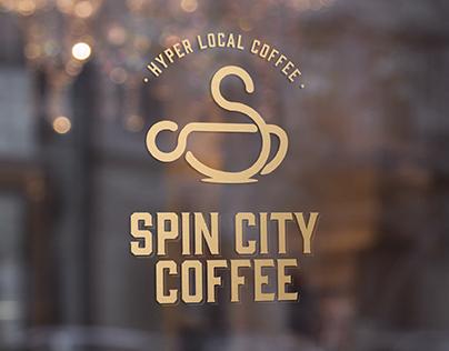 Spin City Coffee - Branding