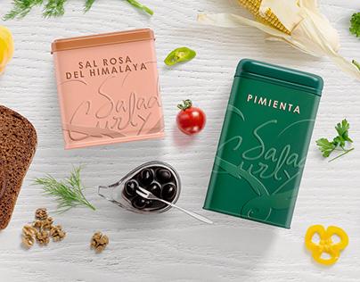 Branding Salad Culry