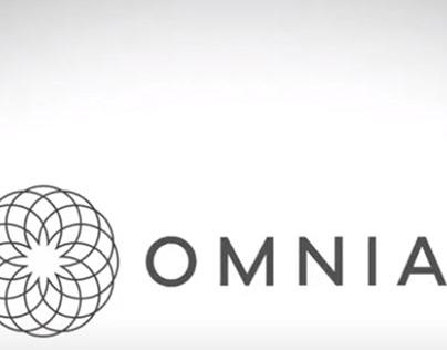 Daniel Hansens presents OMNIA's new brand identity