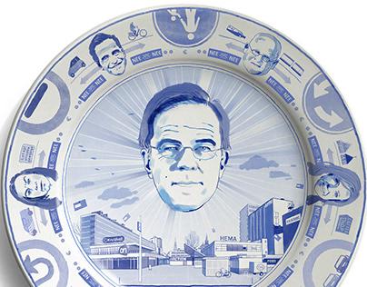 Mark Rutte Delftware