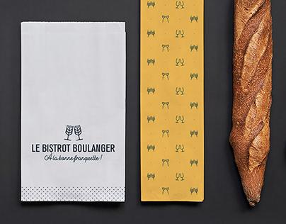 Identité visuelle - Bistrot Boulanger