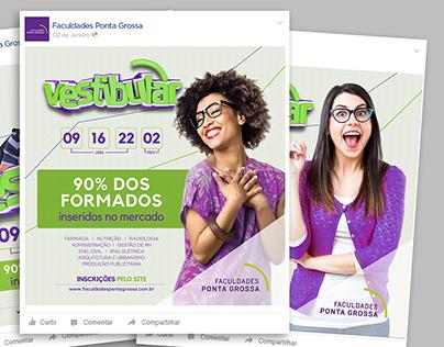 Campanha Completa - Vestibular Faculdades Ponta Grossa