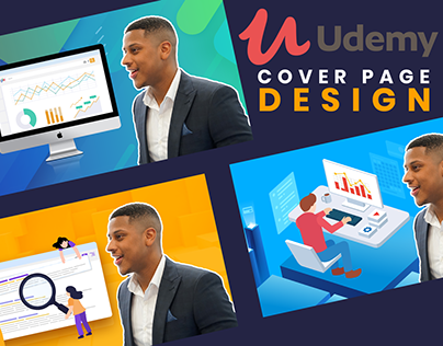 Udemy Cover Page Design.