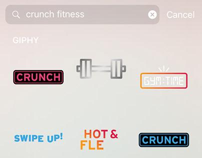 Crunch x Giphy