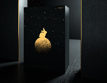 OPPO Mooncake Packaging Design   MOON SPACE「月空」中秋礼盒包装设计