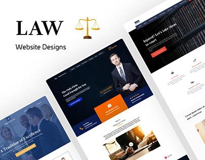 SET OF 5 LAW WEBSITE