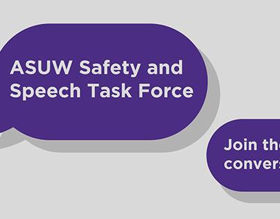 Google Form Header for ASUW Speech & Safety Task Force