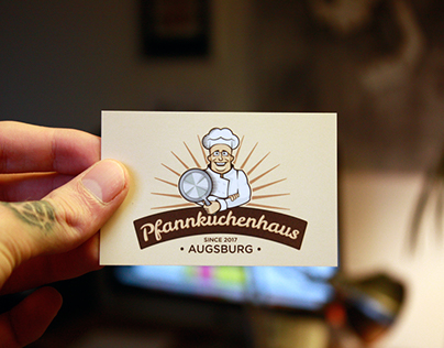 Pfannkuchenhaus Augsburg Corporate Identity