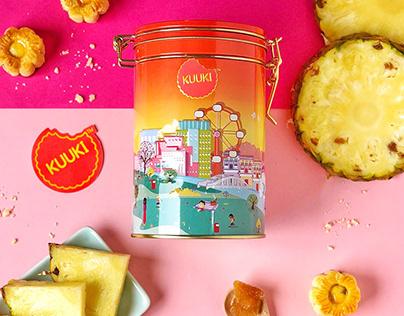 KUUKI - Singapore Cookie Branding & Packaging