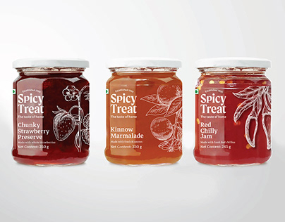 Spicy Treat - Branding & Packaging Design