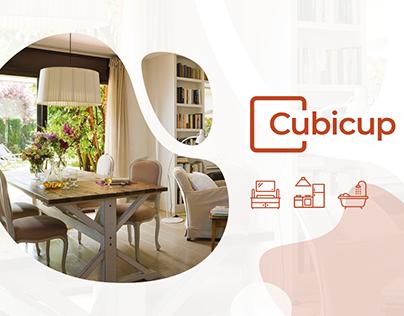 Cubicup - House renovations. Web App house refurbishme