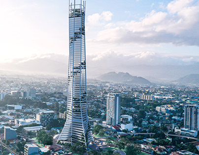 Costa Rica Bicentennial Tower by Inverse Project