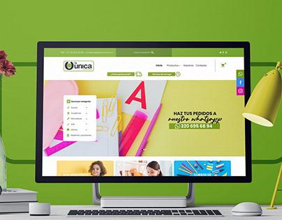 Website Distri La Única