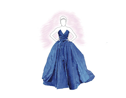 Zuhair Murad - Dresses Illustrations