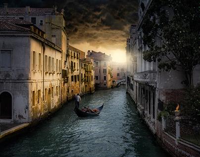 Dunkles Venedig
