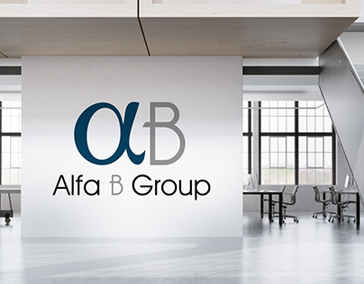 Alfa B Group - Logo design & Corporate identity