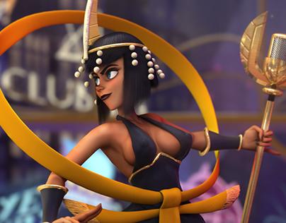 Skullgirls Eliza 3D model