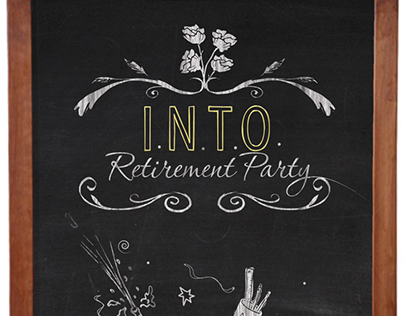 I.N.T.O. Retirement Party Invite