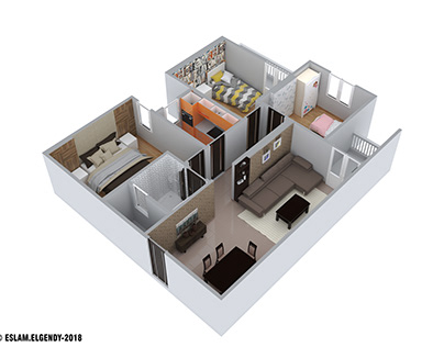 House- section