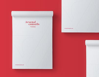 Arsenal conseils | Identité visuelle