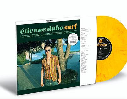 """Liner notes de l'album d'Étienne Daho """"Surf"""""""