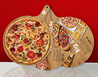 Brochure designs for Pizza Hut Unofficial