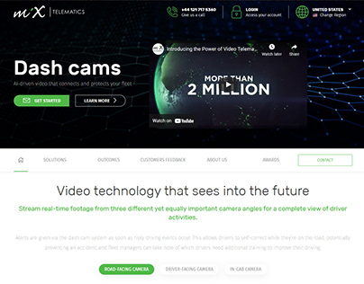 MiX Telematics Global Dash Cams Page