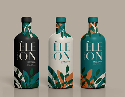 Έleon - Extra Virgin Olive Oil of Greece Packaging