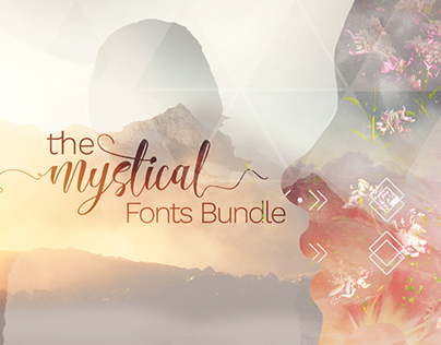 The Mystical Fonts Bundle: 59 Beautiful Fonts