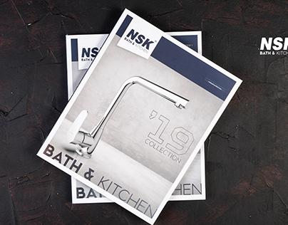 NSK Bath&Kitchen Catalogue Design