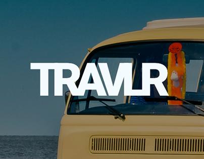 TRAVLR Travel App #MadeWithAdobeXD