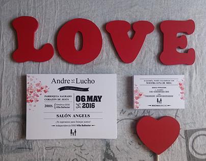 Boda Andre y Lucho