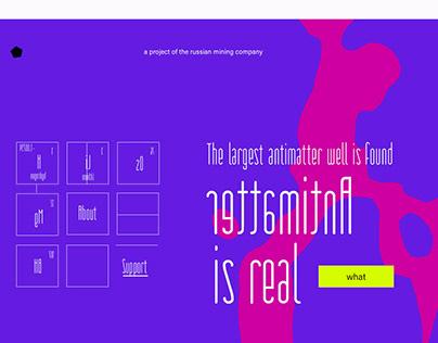 Web design - science project