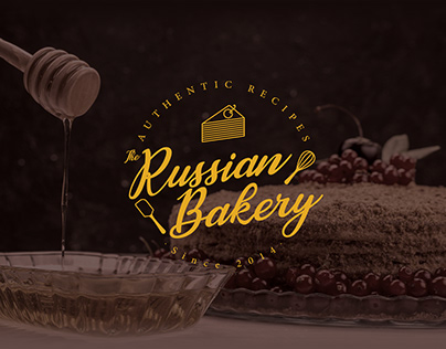 The Russian Bakery (Logo design)