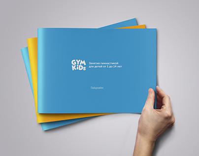 Rebranding logo and creating guideline for GYM KIDs